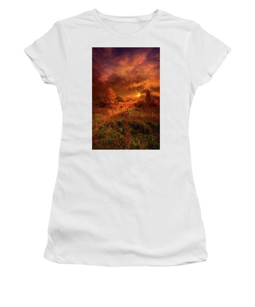 For A Time I Rest In The Grace Of The World And Am Free Women's T-Shirt