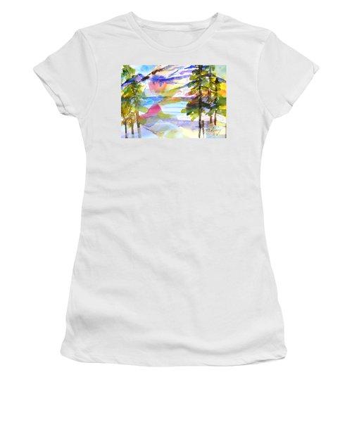 For Love Of Winter #1 Women's T-Shirt (Junior Cut) by Betty M M Wong