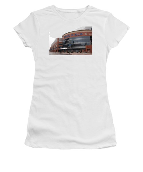 Ford Field Women's T-Shirt (Athletic Fit)
