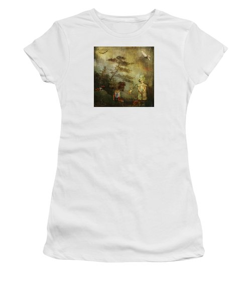 Forest Wonderland Women's T-Shirt (Athletic Fit)