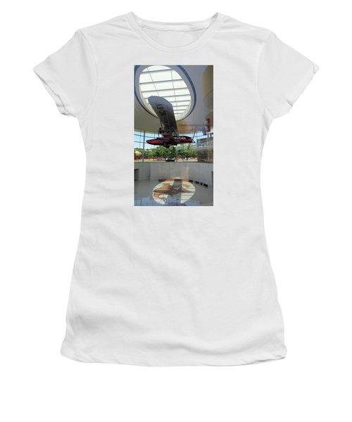 Women's T-Shirt (Junior Cut) featuring the photograph Fortaleza Hall, Spirit Of Carnauba by Mark Czerniec