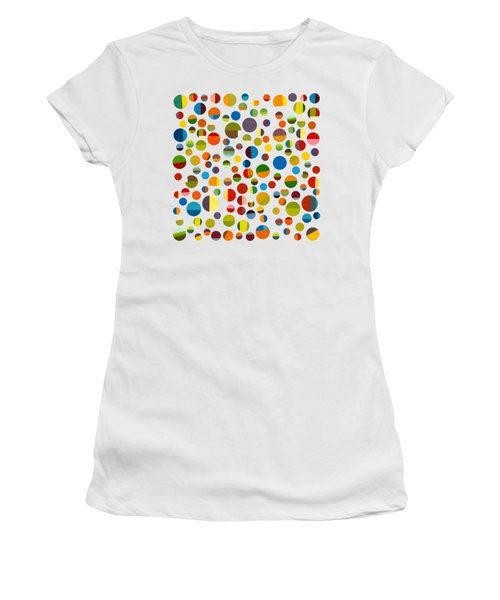 Found My Marbles 3.0 Women's T-Shirt (Junior Cut) by Michelle Calkins