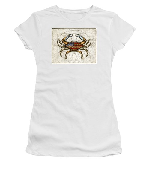 Fourth Of July Crab Women's T-Shirt
