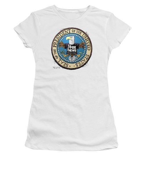 Fox News Presidential Seal Women's T-Shirt