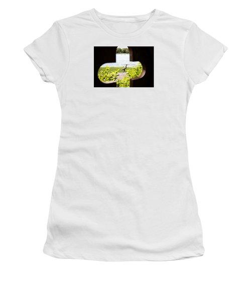 Framed Nature Women's T-Shirt (Junior Cut) by Milena Ilieva