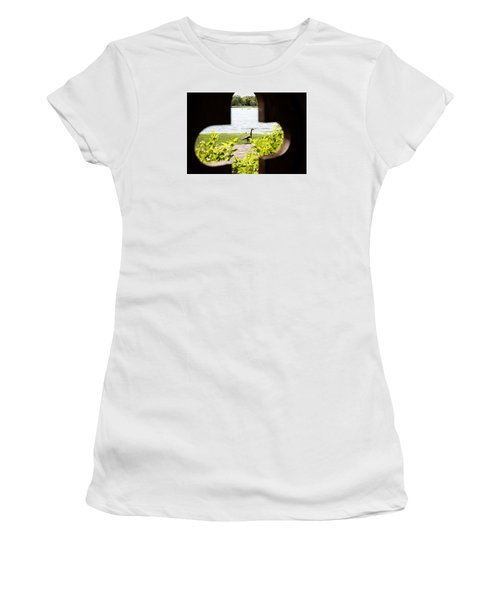 Framed Nature Women's T-Shirt (Athletic Fit)