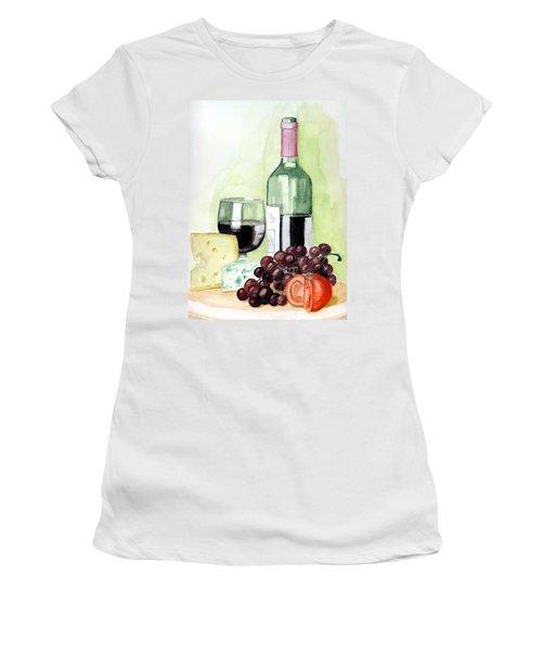 French Tradition Women's T-Shirt (Junior Cut) by Alban Dizdari