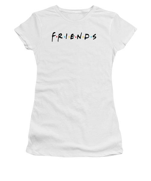Friends Women's T-Shirt (Junior Cut) by Jaime Friedman