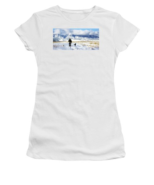 Friends On A Walk Women's T-Shirt