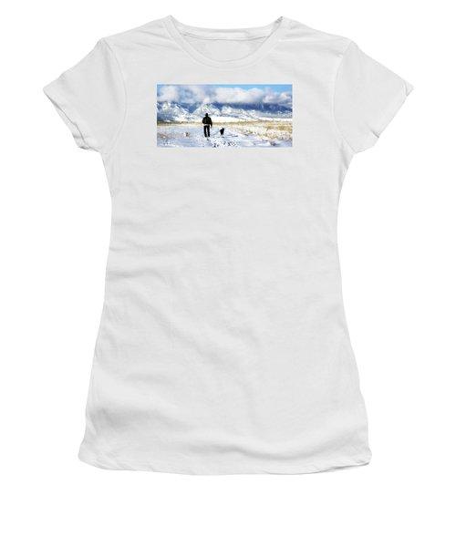Friends On A Walk Women's T-Shirt