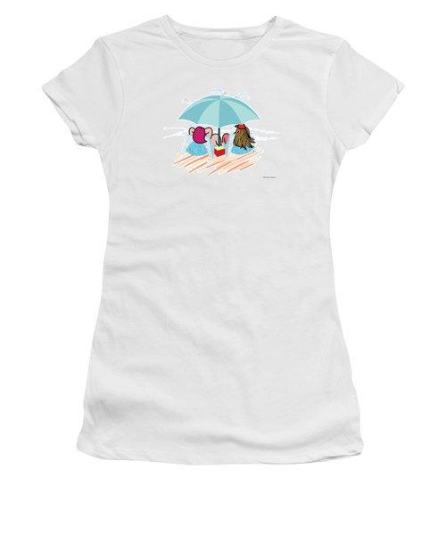 Friends Women's T-Shirt (Junior Cut) by Steve Ellis