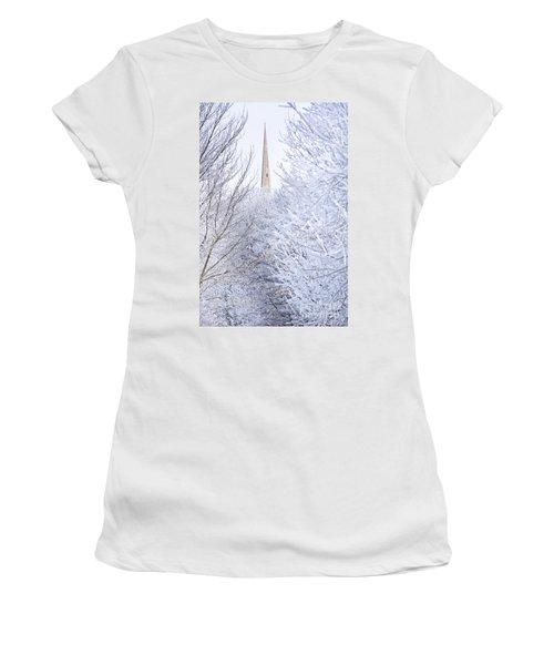 Frosty Morning Women's T-Shirt (Athletic Fit)