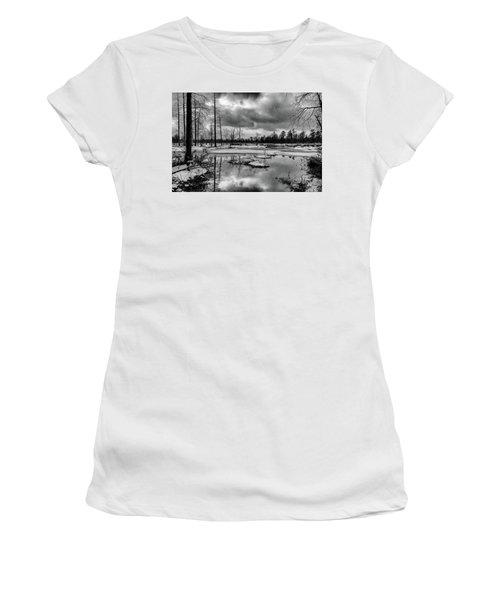 Frozen Mullica River Women's T-Shirt