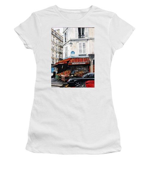 Fruits Et Legumes Women's T-Shirt (Junior Cut) by Tim Johnson