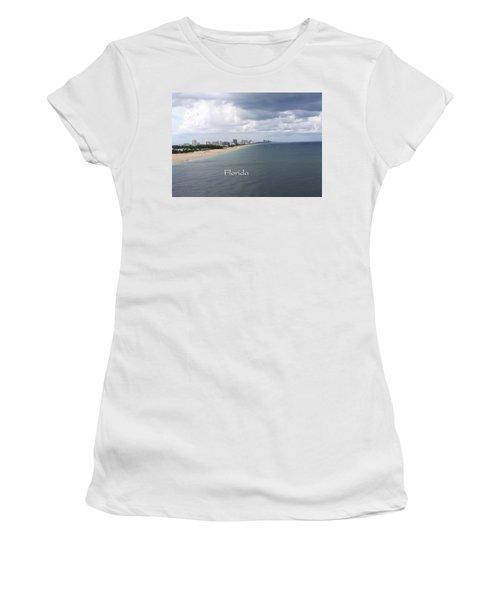 Ft Lauderdale Florida Women's T-Shirt (Athletic Fit)