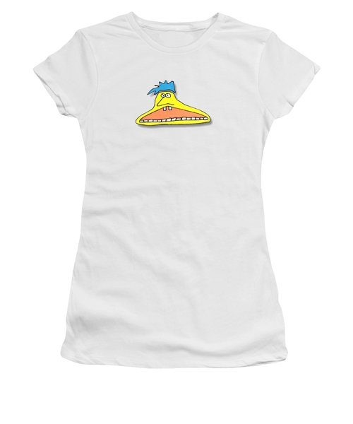Fu Party People - Peep 026 Women's T-Shirt (Athletic Fit)