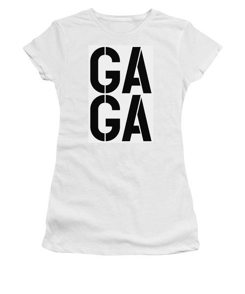 Gaga Women's T-Shirt (Junior Cut) by Three Dots
