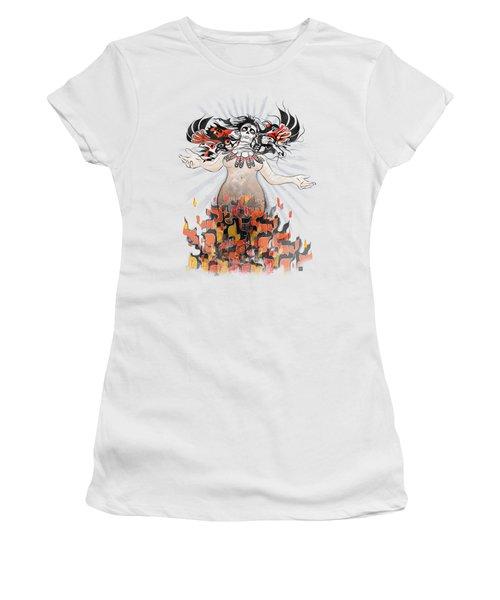 Gaia In Turmoil Women's T-Shirt (Athletic Fit)