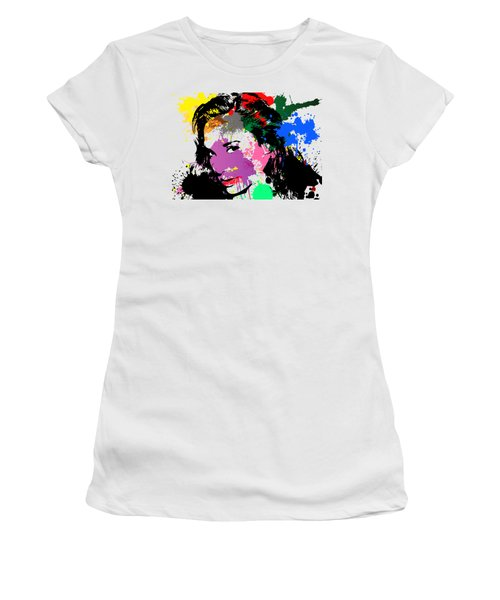 Gal Gadot Pop Art Women's T-Shirt (Athletic Fit)
