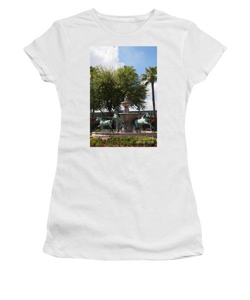 Galloping Water Horses Women's T-Shirt