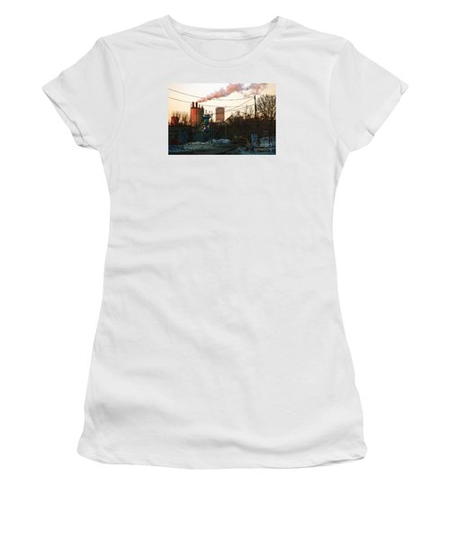 Gate 4 Women's T-Shirt (Junior Cut) by David Blank