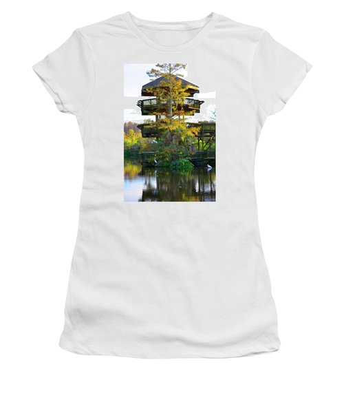 Gator Tower Women's T-Shirt (Athletic Fit)