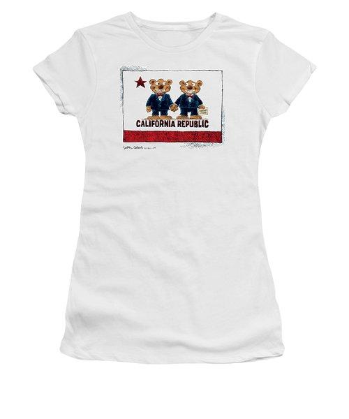 Gay Marriage In California Women's T-Shirt