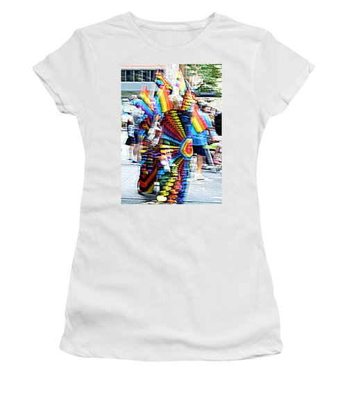 Gay Pride Stand Women's T-Shirt