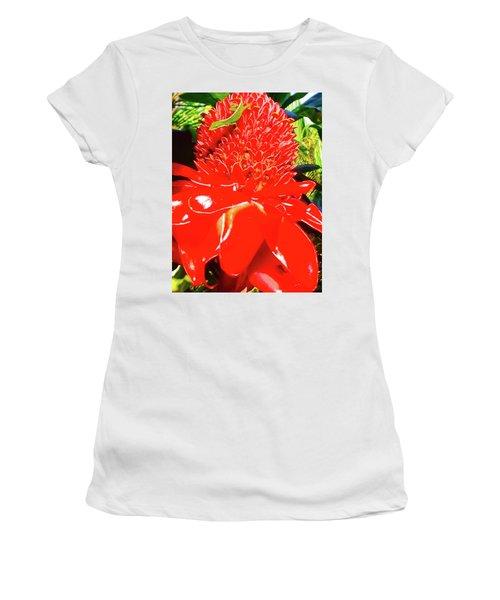 Gecko On Torch Ginger Women's T-Shirt