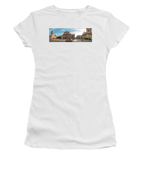 Gendarmenmarkt Platz / Berlin Women's T-Shirt (Junior Cut) by Stavros Argyropoulos