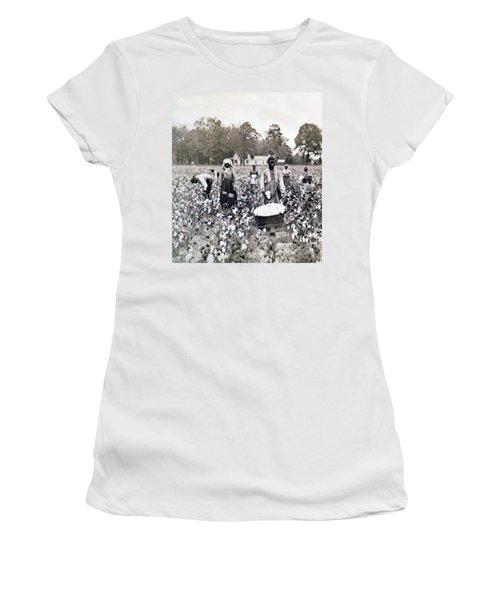 Georgia Cotton Field - C 1898 Women's T-Shirt (Athletic Fit)