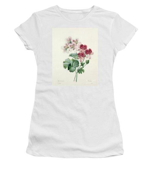 Geranium Variety Women's T-Shirt