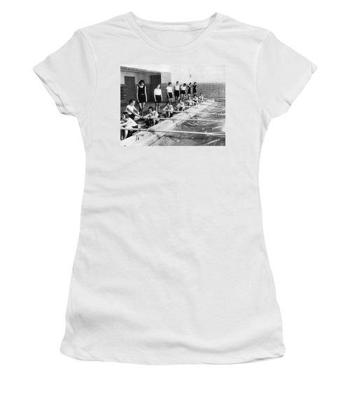 German Girls Learn Rowing Women's T-Shirt