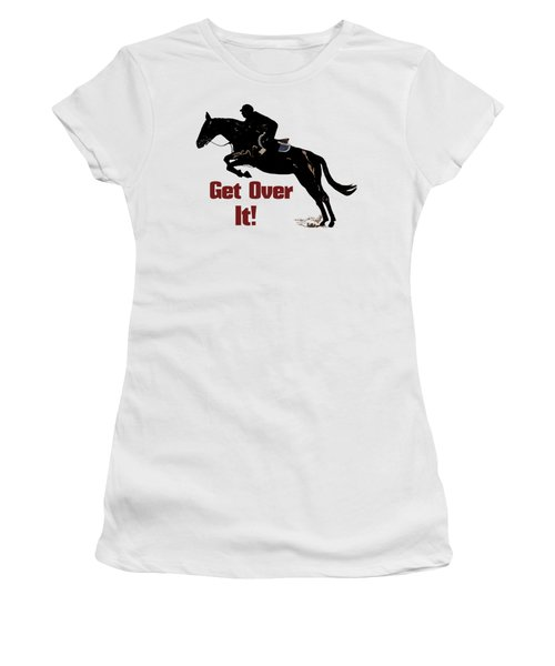 Get Over It Horse Jumper Women's T-Shirt (Athletic Fit)