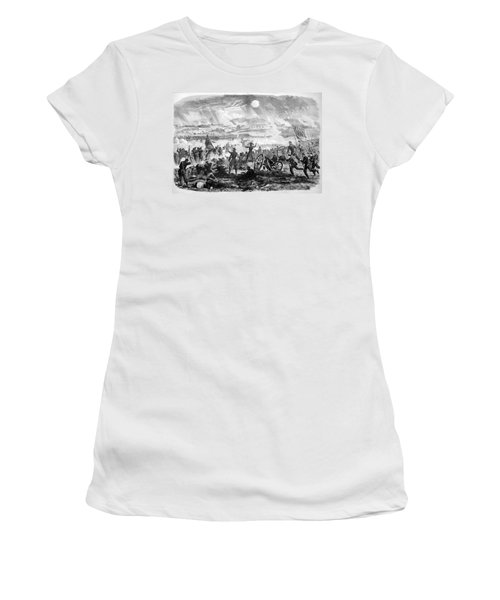 Gettysburg Battle Scene Women's T-Shirt