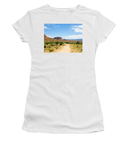 Ghost Ranch  Women's T-Shirt (Athletic Fit)
