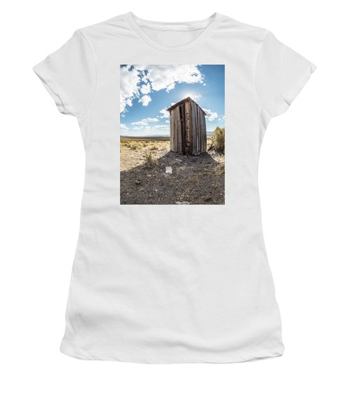 Ghost Town Outhouse Women's T-Shirt