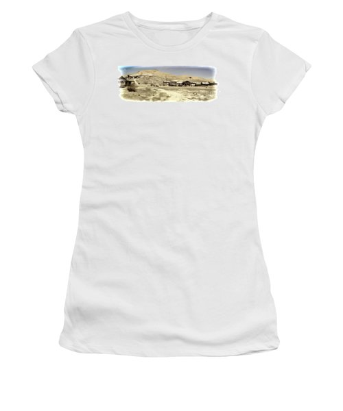 Ghost Town Textured Women's T-Shirt