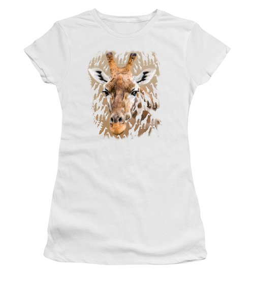 Giraffe Clothing And Wall Art Women's T-Shirt (Athletic Fit)