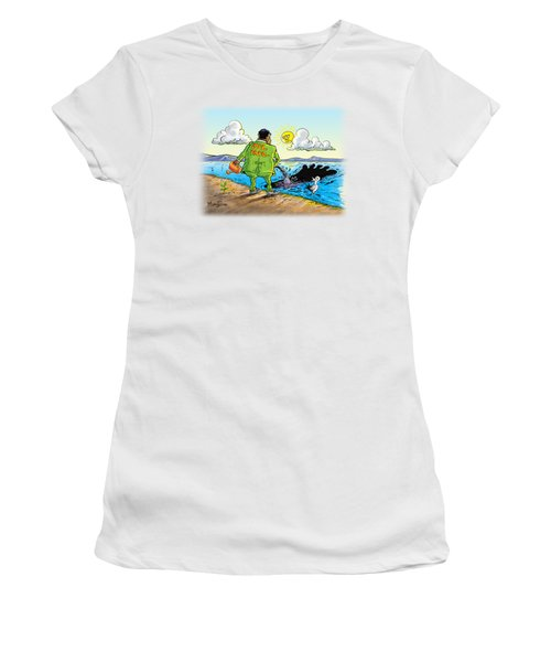 Giving Back To The Environment Women's T-Shirt