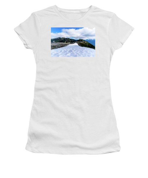 Glaciers At North Cascades Women's T-Shirt (Athletic Fit)