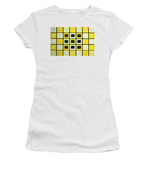Glass Wall Women's T-Shirt (Junior Cut) by Lorna Maza