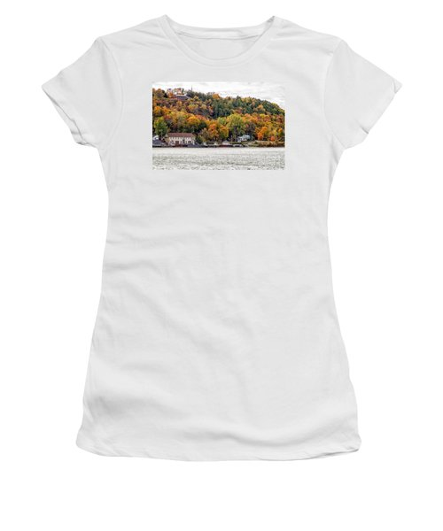 Glenora Ferry Dock Women's T-Shirt (Athletic Fit)
