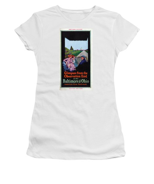 Glimpses From The Observation End Women's T-Shirt