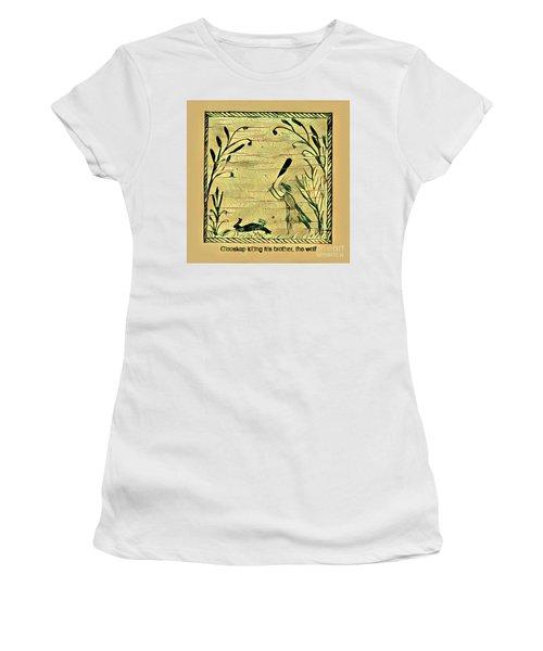 Glooscap Kills The Wolf Women's T-Shirt