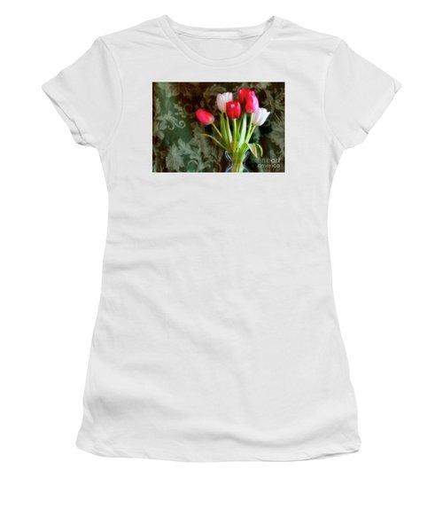 Glowing Women's T-Shirt (Junior Cut) by Joan Bertucci