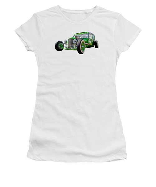 Go Faster Green - Vintage Hot Rod Women's T-Shirt