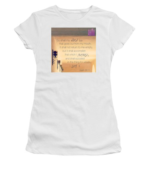 God's Word Has #creative #power Women's T-Shirt