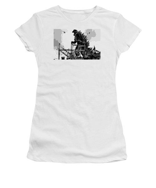 Godzilla Women's T-Shirt (Athletic Fit)