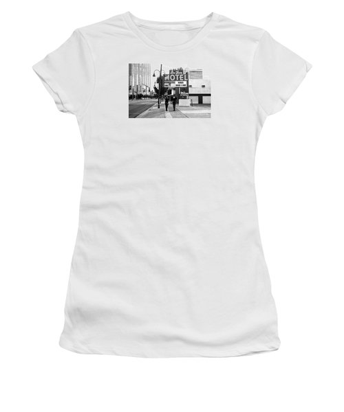 Going For Breakfast Women's T-Shirt (Junior Cut) by Vinnie Oakes
